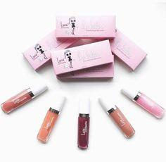 Lucie   Pompette Plumping Lip Batter Ultimate 5 Color Lip Gloss Bundle – La Fontaine Cosmetics