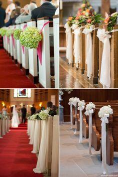 Inteligentny Najlepsze obrazy na tablicy Dekoracje kościołów (21) | Wedding NC83