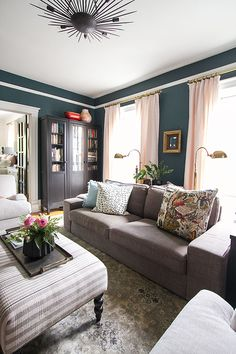 8 Ways To Light Up Your Living Room By Kimberly Duran. Lighting IdeasOak  Furniture ...