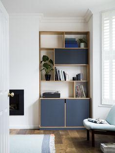 cabinet finish. pulls. plywood frame.