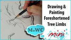 How to Draw & Paint Better Tree Branches My Watercolor Plein Air Set Up and a Q. How to Draw & Paint Better Tree Branches My Watercolor Plein Air Set Up and a Quick Tree Study – Watercolor Video, Watercolor Trees, Watercolour Tutorials, Watercolor Techniques, Art Techniques, Watercolor Paintings, Watercolor Artists, Drawing Skills, Drawing Tips