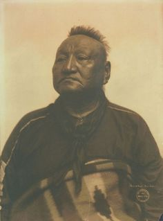 Osage Chief Oh Lo Ho Walla. Along with other members of the Osage, he came to St. Louis to participate in the 1904 Louisiana Purchase Exposition (World's Fair). From the Gerhard Sisters collection of the Missouri History Museum.