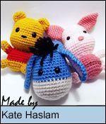 Sabrina's Crochet - Free amigurumi crochet pattern Winnie the Pooh