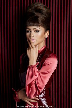 Zendaya photographed by Andrew Stiles for Mane Addicts