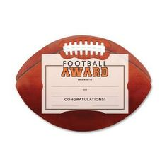 Free printable football certificates and awards | Sports Awards ...