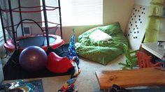 Proyecto: DIY - Transformando el salón o sala de la casa en un CUARTO SENSORIAL para dos niños