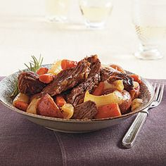 Slow-Cooker Company Pot Roast | CookingLight.com #myplate #protein #vegetables