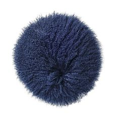 Bloomingville cushion. Mongolian lamb fur www.bloomingville.com