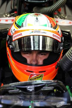 Sergio Perez Sahara Force India 2014