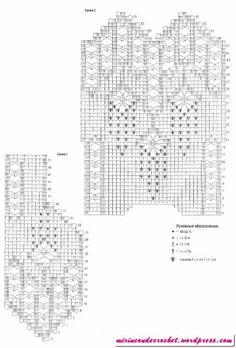 The Crochet Tangle Untangled: Filet Crochet - White Mesh Vest Crochet Bolero Pattern, Crochet Motifs, Filet Crochet, Crochet Blouse, Crochet Chart, Thread Crochet, Knit Crochet, Crochet Patterns, Crochet Short Dresses
