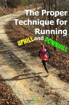 running form Many runners don't run with proper form when they go uphill or downhill. In this article, we'll show you exactly how to maintain proper form when running hills Running For Beginners, How To Start Running, How To Run Faster, Training Plan, Running Training, Training Tips, Triathlon Training, Training Equipment, Running Injuries