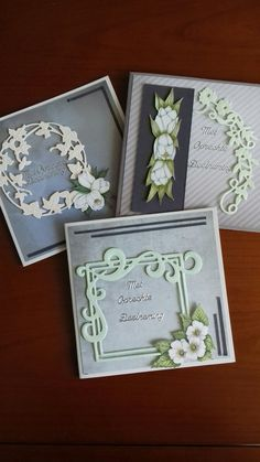 Quilling Cards, Bereavement, Marianne Design, Sympathy Cards, Folded Cards, Homemade Cards, Making Ideas, Cardmaking, Berry