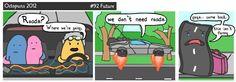 LIKE Progressive Truck School today: http://www.facebook.com/cdltruck  #trucking #truck #driver  Road comic