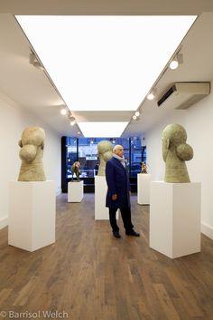 Barrisol Welch - Light Box at the John Martin Gallery, UK.