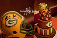 aaron rodgers green bay packers wedding cake | Flickr - Photo Sharing!