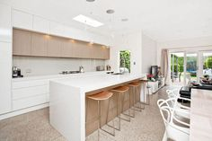 15 Inspirational Caesarstone Kitchens & Bathrooms from our White Collection