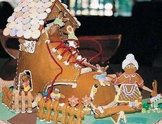 Gingerbread Shoe House