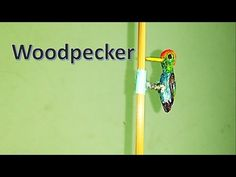 How to make a toy Woodpecker - YouTube