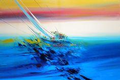 """La sfida"" cm 120X80X7 Tecnica: olio su tela"