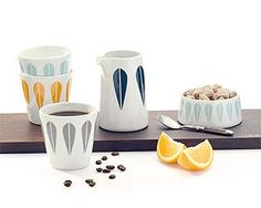 Arne Clausen Collection Cup, Sugar Bowl, Pitcher, Creamer, Pitcher for Lucie Kaas (Catherine Holm)