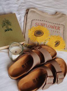 brown & sunflowers! instagram:: @eleanorhross