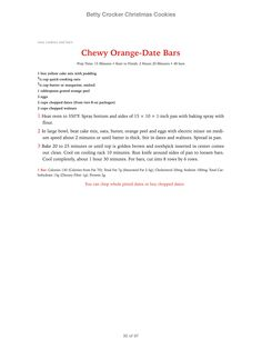 chewy orange date bars aka food for the - Cover Letter For Lpn Resume