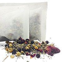 2 for 1 Bath Tea with Spa Salts Kit by SixWhiteTies on Etsy, $50.00