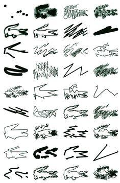 Peter Saville's Lacoste logo designs, 2013