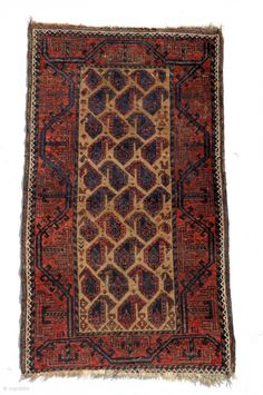 Small Baluch with boteh and animals, 19th century