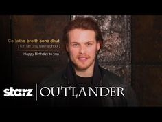 Outlander's Sam Heughan is here to wish you a verra happy birthday. Or, share this video with your friends on their special day! Subscribe now for more Outla...