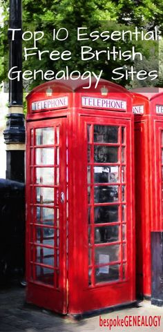 Top 10 Essential Free British Genealogy Sites | Bespoke Genealogy