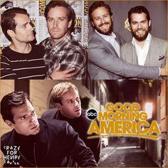 Crazy For Henry Cavill BR: Henry Cavill no Good Morning América