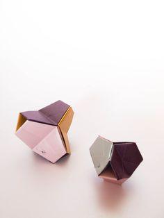 origami modular turtle- 6 piezas