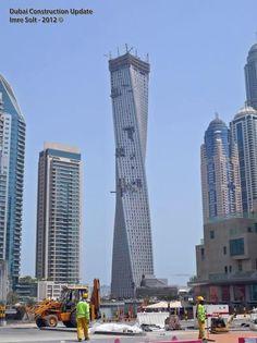 Infinity Tower, #Dubai    #architecture #design #travel