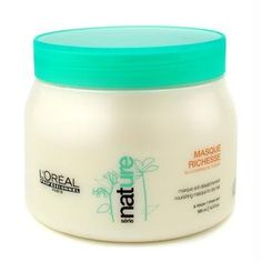 Professionnel Nature Serie - Richesse Masque (For Dry Hair) 500ml/16.5oz by L'Oreal Paris *** Visit the image link for more details. #hairinspiration