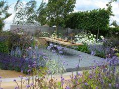 Paul Martin Garden  RHS Hampton Court Palace Flower Show 2014