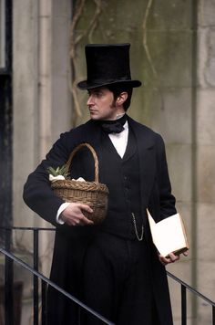 Reminds me of Dr. Hawthorne. Are those really vegetables or is there part of a body in that basket?