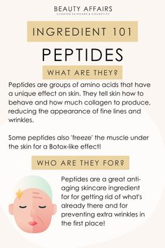 Skin Tips, Skin Care Tips, Amino Acids, Skin Care Routine Steps, Face Skin Care, Skin Care Regimen, Facial Routine Skincare, Skincare Blog, Skin Treatments