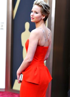 Jennifer Lawrence at the 2014 Academy Awards (March 2, 2014)