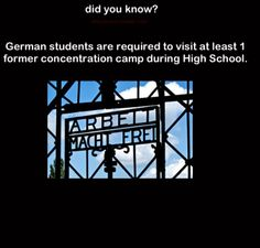 At least the Germans can kinda realize Hitler's mistakes and not let them define Germany...