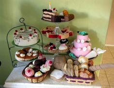 Felt food bakery