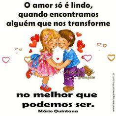 MENSAGENS DE CARINHO: O amor só é lindo