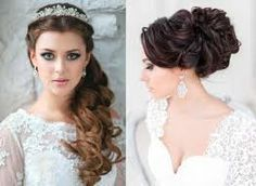 Image result for long bridal hair with veil