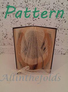 Horseshoe Bookfolding Pattern DIY By Allinthefolds On Etsy