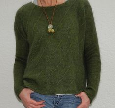 Ravelry: Big in Japan sweater pattern by Katrin Schneider Sport Weight Yarn, Cool Style, My Style, Work Tops, Japan Fashion, Knit Crochet, Knitting Patterns, Pullover, Clothes For Women