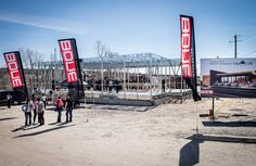 The construction site of Musi-Café
