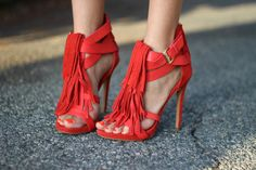 Red Heels on the Road