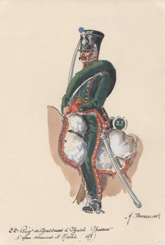 Trooper 22nd Regt of Chasseurs a Cheval