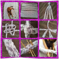 Tie Rawhide inside a toy over and over again! (NO Link! Homemade Dog Toys, Diy Dog Toys, Cat Toys, Brain Games For Dogs, Dog Games, Dog Crafts, Animal Crafts, Dog Enrichment, Dog Puzzles