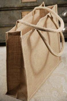 sac en toile, sac en jute rectangulaire